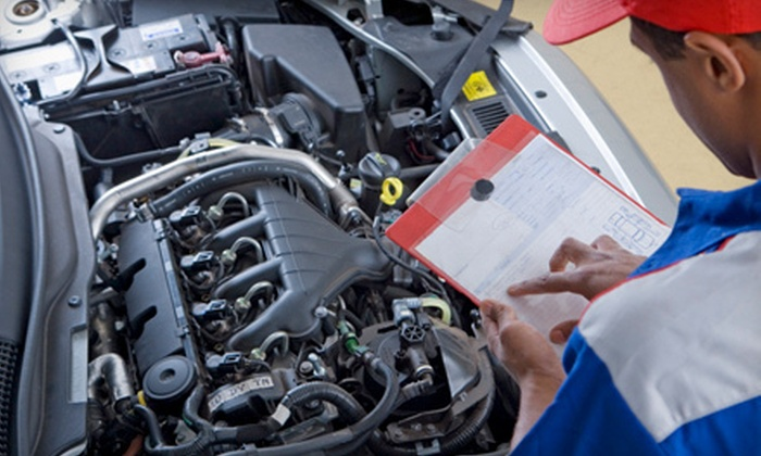 Bay Street Auto Center in Staten Island - Multiple Locations: New York State Inspection or New York State Inspection and Oil Change at Bay Street Auto Center (Up to 65% Off)