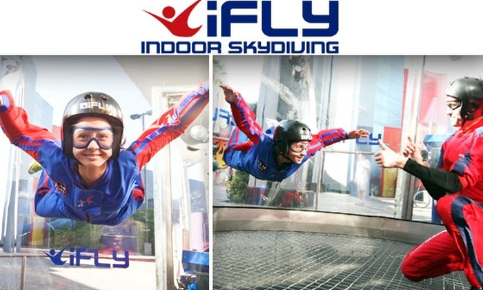 iFly Hollywood - Universal City: $37 for Two Indoor Skydiving Flights Plus DVD at iFly Hollywood ($84.90 Value)