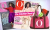 "Hearst Magazines **NAT**: $10 for a One-Year Subscription to ""O, The Oprah Magazine,"" Plus an Oprah Tote Bag ($18 Value). Shipping Included."