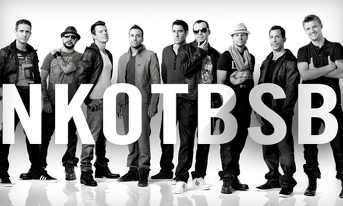 New Kids on the Block and Backstreet Boys at Greensboro Coliseum Complex - Greensboro: Two Tickets to See New Kids on the Block and Backstreet Boys at the Greensboro Coliseum Complex on July 23 at 8 p.m. Two Options Available.