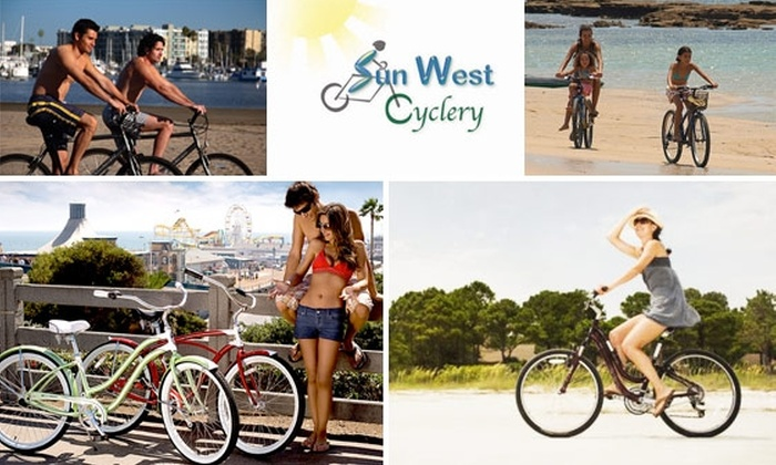 Sun West Cyclery - Tarpon Springs: $15 for Full-Day Bike Rental at Sun West Cyclery ($25 Value)