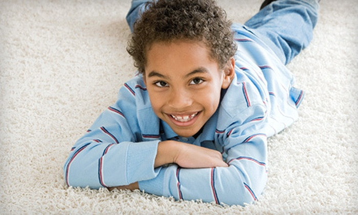 New Mexico Quality Air - Barelas: Carpet Cleaning for Three Rooms or Cleaning of an Area Rug Up to 8'x10' from New Mexico Quality Air (65% Off)