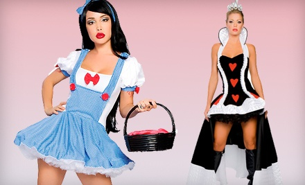 $50 Groupon for Costumes, Lingerie, Swimwear, and More - Kisstotease.com in