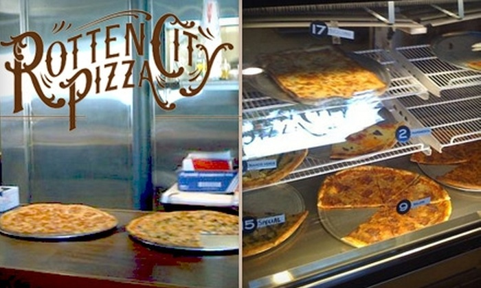 Rotten City Pizza - Emeryville: $10 for $20 Worth of Authentic NY-Style Slices and Pies at Rotten City Pizza