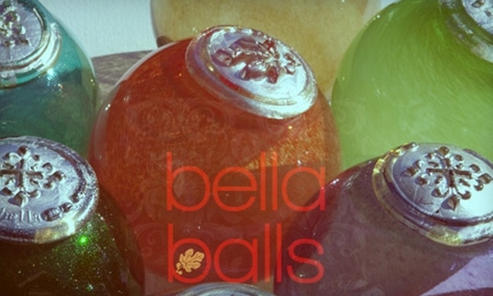 Bellaballs: $20 for $40 Worth of Handcrafted Glass Floats at Bellaballs
