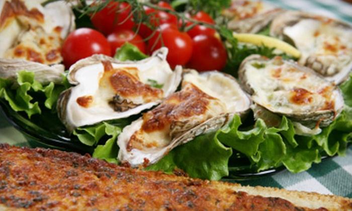 Seafood and Spaghetti Works - Port Aransas: $15 for $30 Worth of Italian Fare at Seafood and Spaghetti Works in Port Aransas