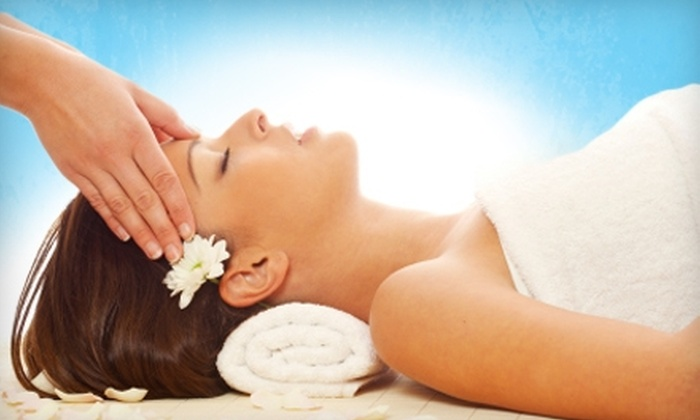 Massage Bliss & Day Spa - Deerwood: $35 for a Choice of Massage (Up to $75 Value) or $55 for Facial Laser Treatment ($125 Value) at Massage Bliss & Day Spa