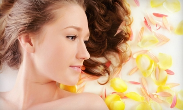 114 Sun & Spa - Mulvane: $40 for an Exfoliating Body Treatment, Airbrush Tan, and Hydromist Moisture Spray at 114 Sun & Spa in Mulvane ($85 Value)