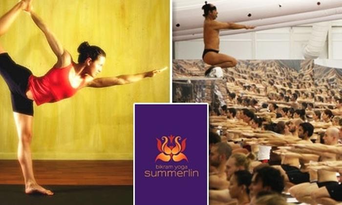 Bikram Yoga Summerlin - Summerlin: $25 For 25 Classes at Bikram Yoga Summerlin ($450 Value)