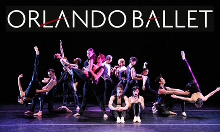 """Orlando Ballet - Callahan: $19 for a Section A2 Balcony Seat ($37 Value) or $14 for a Section B Balcony Seat ($27 Value) at the Orlando Ballet's Production of """"Battle of the Sexes II."""" Three Dates Available."""
