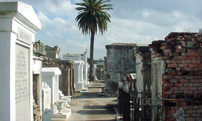 New Orleans Spirit Tours - French Quarter: $15 for Cemetery & Voodoo Walking Tour for Two from New Orleans Spirit Tours (Up to $32 Value)