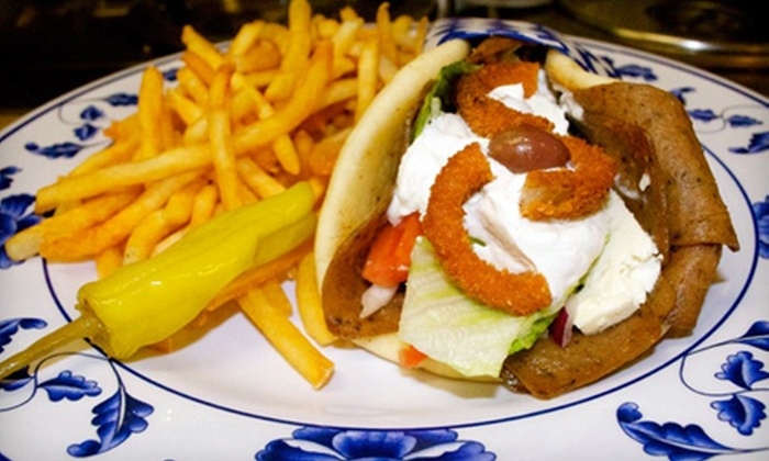 Theo's Cafe - Montclair: $15 for a Greek-Inspired Meal for Two at Theo's Cafe in Montclair