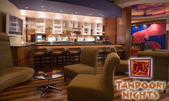 Tandoori Nights - Multiple Locations: $20 for $40 Worth of Indian Dining and Drinks at Tandoori Nights. Choose from Two Locations.