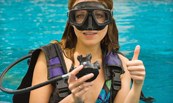 International Scuba - Dallas: Beginner or Continuing-Education Scuba Classes at International Scuba in Carrollton. Five Options Available.