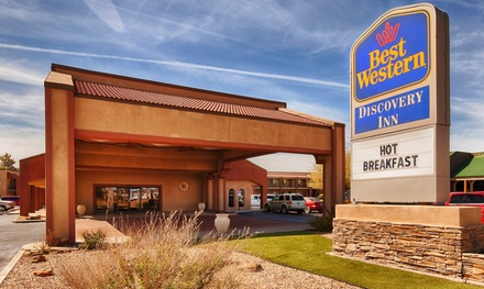 Stay at Best Western Discovery Inn in Tucumcari, NM, with Dates into May