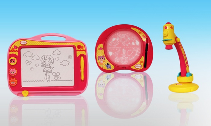Lalaloopsy Drawing Toys: Lalaloopsy Toys with Magnetic Drawing Board, Trace N Draw, or Stencil Designer Set from $13.99—$24.99. Free Returns.