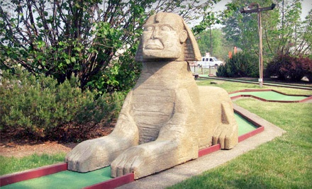 1 Round of Mini Golf and Concessions for Two - Rinky Dink Family Fun Center in Medina