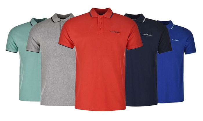 pierre cardin tipped polo shirts groupon goods. Black Bedroom Furniture Sets. Home Design Ideas