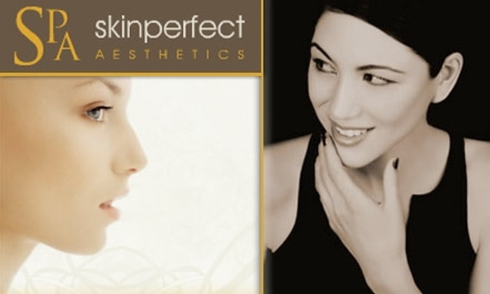 Skinperfect Aesthetics - Burien: $42 for a Perfect-Finish Facial, Lip and Brow Waxing, and Eyelash and Brow Tinting at Skinperfect Aesthetics ($89 Value)