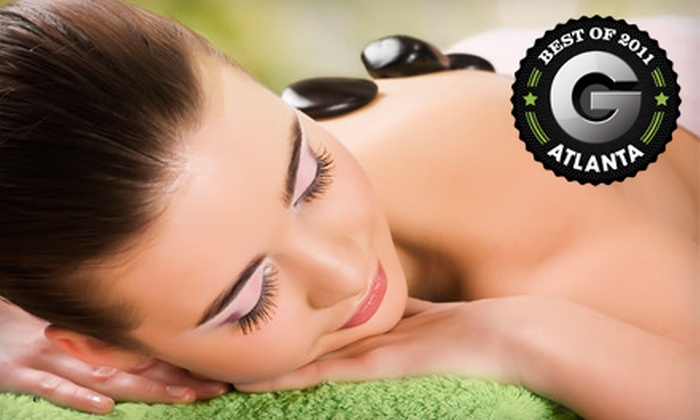The Spa at Evergreen - Stone Mountain: Spa Package with Massage and Spa Service for One or Two at The Spa at Evergreen in Stone Mountain (Up to 67% Off)