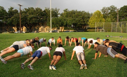 Ten Boot-Camp Classes or One Month of Unlimited Boot-Camp Classes at Bradshaw's Boot Camp (Up to 61% Off)