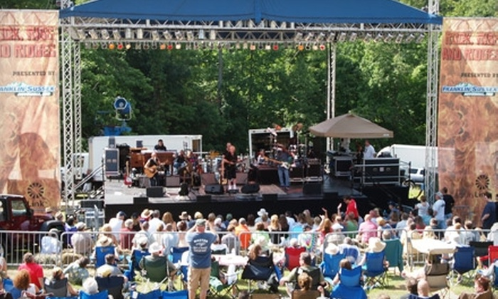 Rock, Ribs, and Ridges - Highland Lake: $20 for a General Admission to Rock, Ribs, and Ridges Festival Presented by FS Automall at The Hidden Valley Club in Vernon (Up to $40 Value). Two Dates Available.
