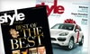 """""""Colorado Springs Style"""" Magazine: $10 for One-Year Subscription to """"Colorado Springs Style"""" Magazine ($18.97 Value)"""