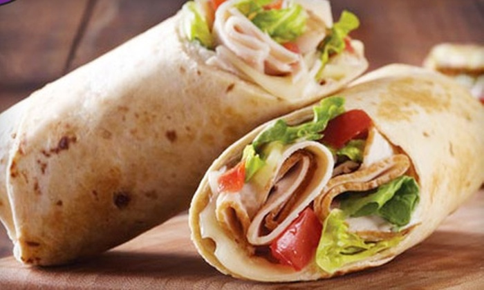 Tropical Smoothie Café - Palma Ceia West: $10 for Paradise Combo Meals for Two at Tropical Smoothie Café ($19.98 Value)