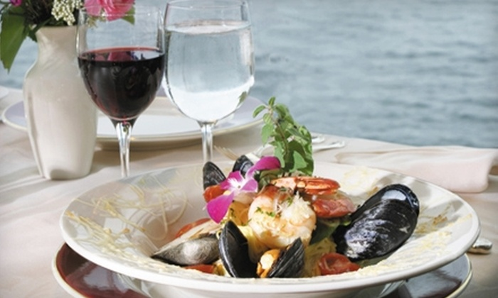 The Admiralty - Madison: Elegant Dinner Cuisine at The Admiralty in The Edgewater Hotel