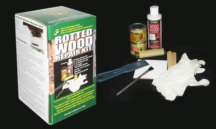 Rotted Wood Repair Kit: Rotted-Wood Repair Kit. Free Shipping and Returns.