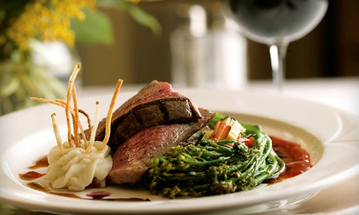 25 Kitchen + Bar - Heartside-Downtown: Three-Course Upscale Dinner and Wine for Two, Four, or Six at 25 Kitchen + Bar