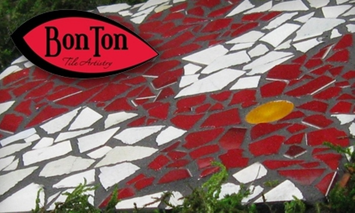 BonTon Designs - Robbinsdale - Crystal - New Hope: $35 for Your Choice of a Stepping-Stone or Mirror-Making Class at BonTon Designs ($85 Value)
