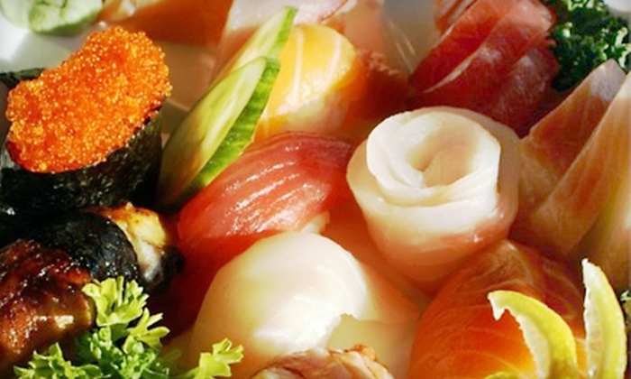 Aloha Sushi Lounge - San Diego: $20 for $40 Worth of Sushi and Asian Fusion Cuisine at Aloha Sushi Lounge in La Jolla