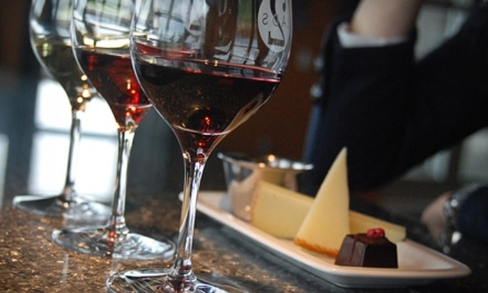 Two Lads Winery - Peninsula: $25 for a Private Wine Tasting for Two with Tasting Menu and Winery Tour at Two Lads Winery in Traverse City ($50 Value)