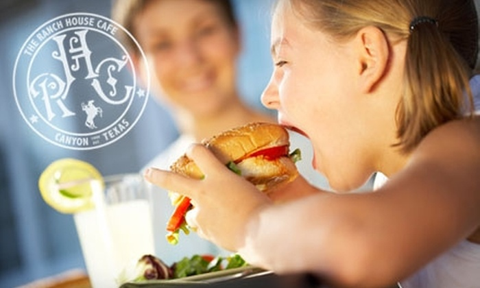 The Ranch House Cafe - Canyon: $5 for $10 Worth of Breakfast and Lunch Fare at The Ranch House Cafe