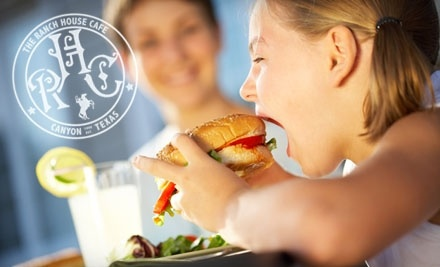 $10 Groupon to The Ranch House Cafe - The Ranch House Cafe in Canyon
