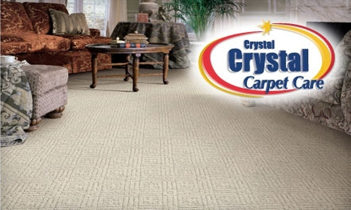 Crystal Crystal Carpet Care - South Hilltop: $37 Carpet Cleaning with Stain-Block Protection for Two Rooms from Crystal Crystal Carpet Care ($79 Value)