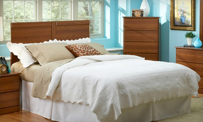 Heavenly Sleep Shoppe - Multiple Locations: $25 for $100 Worth of Furniture and Accessories at Heavenly Sleep Shoppe