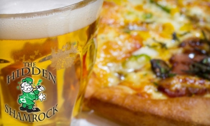 The Hidden Shamrock - Lincoln Park: $20 for $40 Worth of Irish Pub Fare and Beer at The Hidden Shamrock