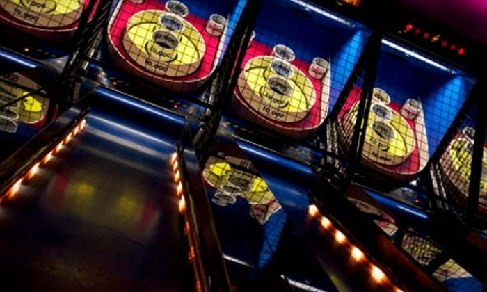Monkey Jungle Fun Time - Jacksonville Beach: Pizza and Salad Buffet, Fun, and Games for Two at Monkey Jungle Fun Time. Choose Between Two Options.