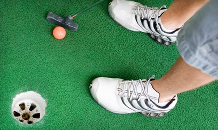 Four Seasons Golf Center - East Columbus: $5 for a Large Bucket of Practice-Range Balls ($10 Value) or $8 for Four Rounds of Mini Golf (Up to $16 Value) at Four Seasons Golf Center