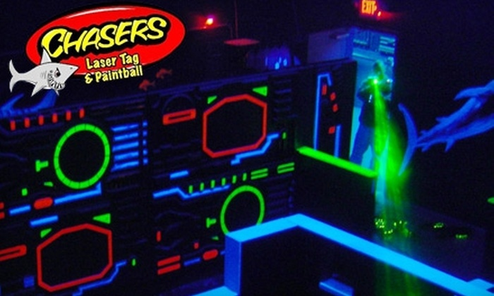 Chasers Laser Tag & Paintball - Aurora: $10 for Four Games of Laser Tag at Chasers Laser Tag & Paintball in Naperville ($20 Value)