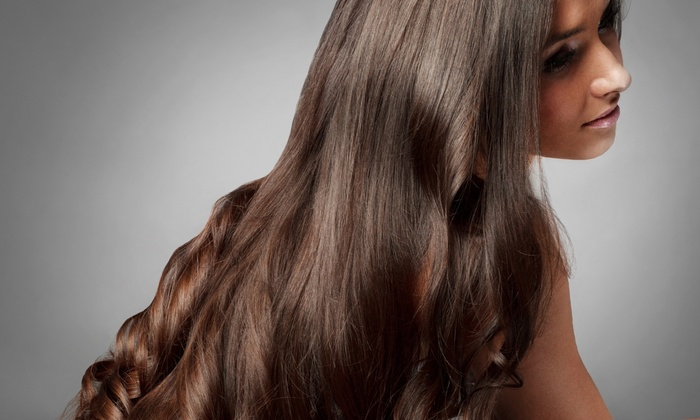 Beautiful By Christine - Buford: Full Sew-In Weave or Cut or Relaxer or Silk Press Hair-Straightening at Beautiful By Christine (Up to 48% Off)