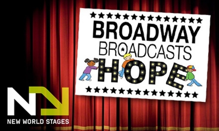 Broadway Broadcasts Hope - Clinton: $99 for VIP Admission or $75 for Regular Admission to Broadway Broadcasts Hope on November 28