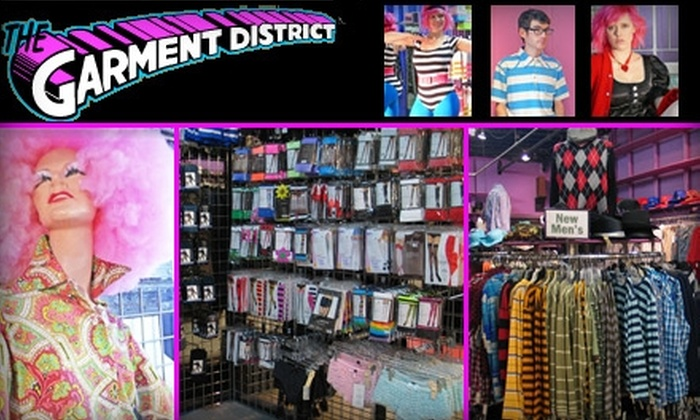 The Garment District - Area IV: $10 for $20 Worth of Vintage Threads, Costumes, and New Clothes From The Garment District