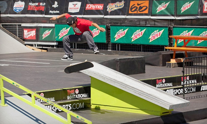 Dew Tour Portland Invitational - Lloyd District: $8 for an Action Sports and Concert Outing for One at the Dew Tour Portland Invitational on August 11–12 ($15 Value)