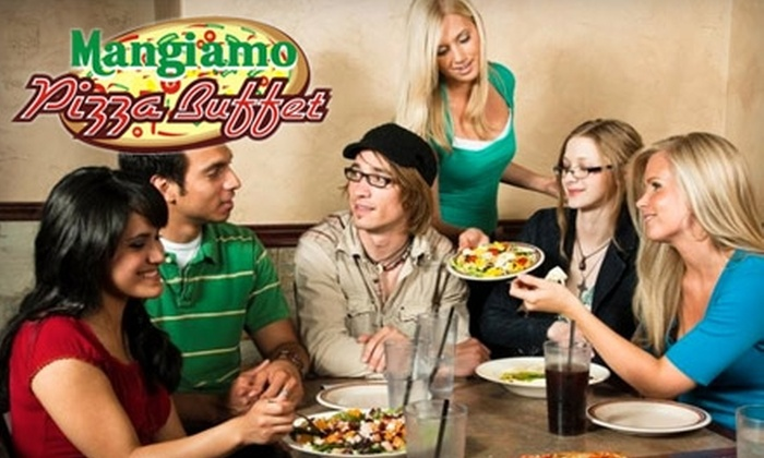 Mangiamo Pizza Buffet - Oakville: $10 for $20 Worth of Gourmet Pizza & More at Mangiamo Pizza Buffet in Oakville