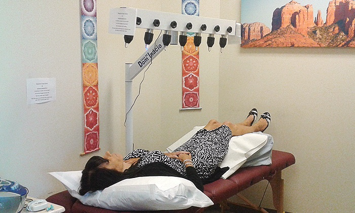 Arizona PMR Estelle Farrell, D.O. - Salt River: $68 for a Crystal Bed Session with Alpha-Stim from Arizona PMR Estelle Farrell, D.O. ($150 Value)