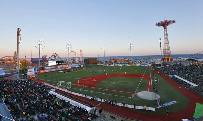 New York Cosmos - MCU Park in Brooklyn: New York Cosmos Championship Semifinal Soccer Match on Saturday, November 7, at 2 p.m.