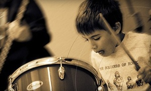 Creative Soul School of Music: 2 or 4 Private or Group Music Lessons or 2-Hour Birthday Party at Creative Soul School of Music (Up to 74% Off)